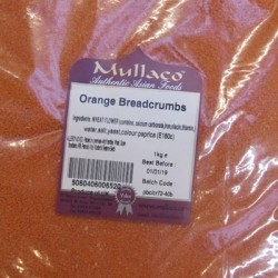 Mullaco Orange Breadcrumbs 1kg