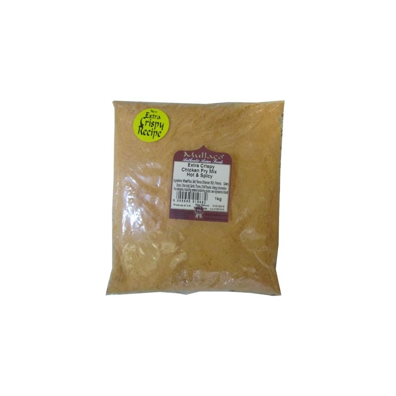 M Extra Crispy Chicken Fry Mix Hot & Spicy 1kg