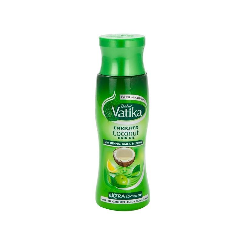 Dabur Vatika Enriched Coconut Hair Oil with Henna, Amla & Lemon 300ml