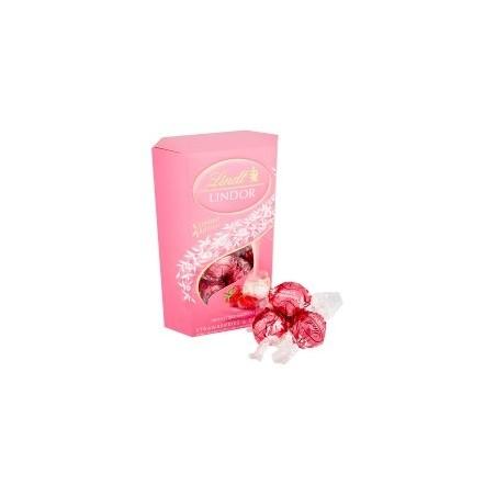 Lindt Lindor Strawberry & Cream Truffles 200g
