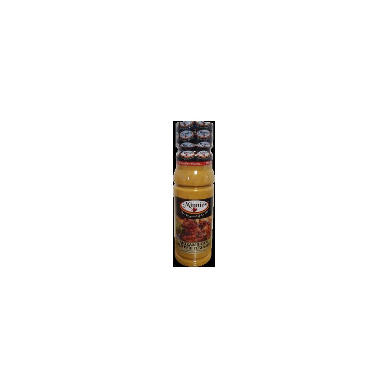 Minnies Mozambican Mild Peri Peri Sauce 250ml