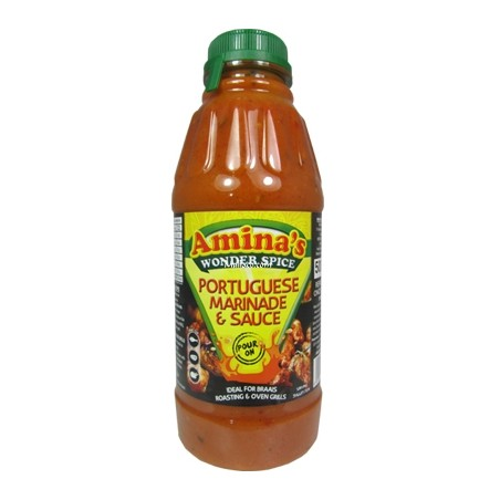 Aminas Wonder Spice Portuguese Pour On Marinade (500ml)