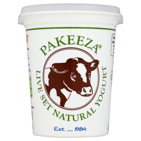 Pakeeza Live Set Natural Yogurt 425g