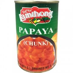 New Lamthong Papaya in Syrup 425g