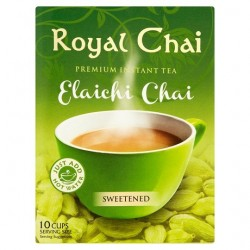 Royal Chai Elaichi Cardamom Tea Unsweetened 220g