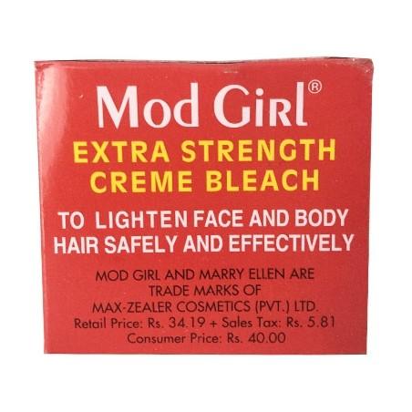 Mod Girl Extra Strength Face Creme Bleach