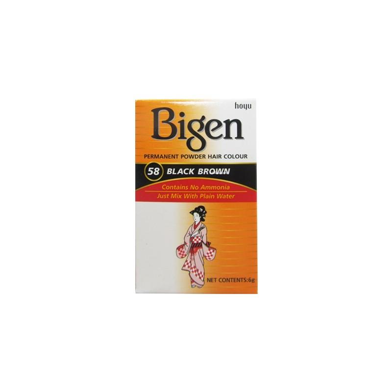 Bigen Hair Dye No.58 black/brown