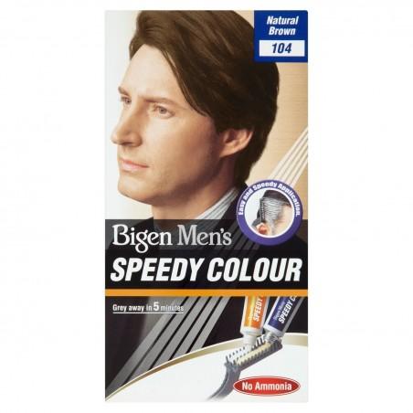 Bigen Mens Speedy Hair Dye 104 Natural Brown
