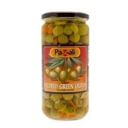 Pascali Olives Green Stuffed 665g