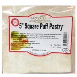 "Tayyabah 5"" Square Puff Pastry"