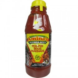 Amina's Wonder Spice Peri Peri Braai Pour On Marinade (500ml)