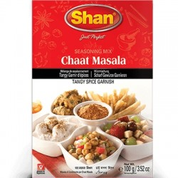 Shan Chaat Masala Seasoning Mix 100g