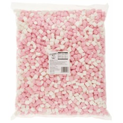 SweetZone Mini Mallows Pink And White 1kg