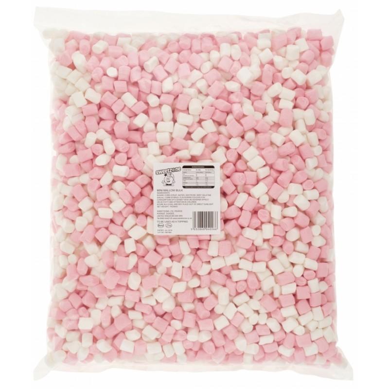 SweetZone Mini Mallows Pink And White 1kg
