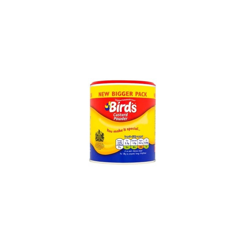Birds Custard Powder Tin