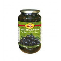 Sofra Pitted Black Olives 935g