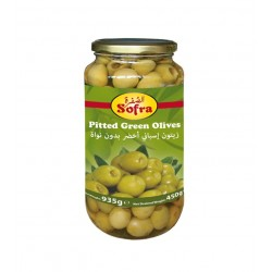 Sofra Pitted Green Olives 335g