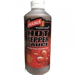 Crucials Hot Pepper Sauce 500ml