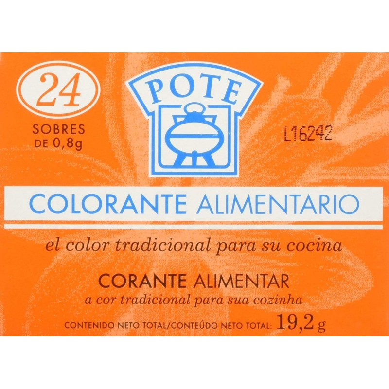 Pote Orange Colouring Powder 30g