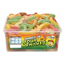 Sweetzone Sour Snakes 120pc