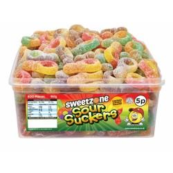 Sweetzone Sour Suckers 120pc