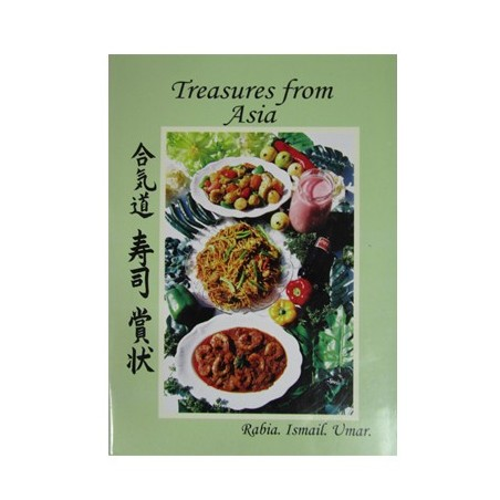 Treasures From Asia Cook Book