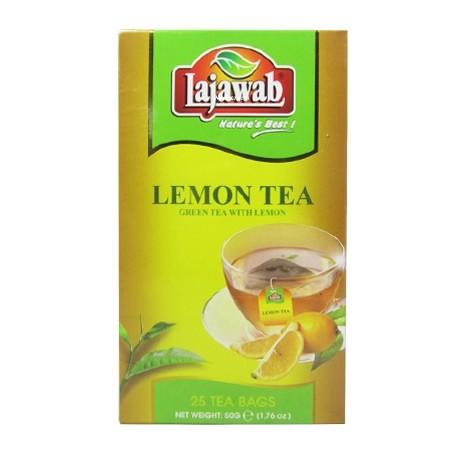 Lajawab Lemon Green Tea Bags 25's