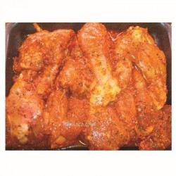 BBQ marinated Piri piri Chicken Niblets