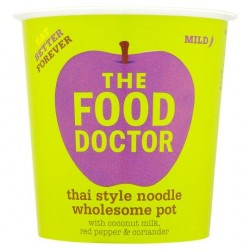 The Food Doctor Thai Style Noodles, With Coconut milk, Red Pepper & Coriander