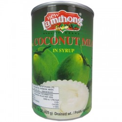 New Lamthong Coconut Meat in Syrup 565g