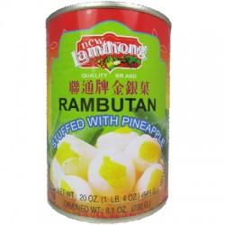 New Lamthong Rambutan with Pineapple 565g