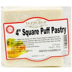 """Tayyabah 4"""" Square Puff Pastry"""