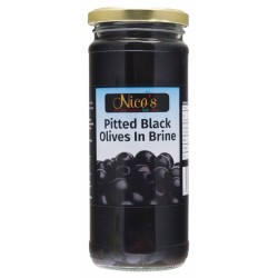 Nico's Pitted Black Olives in Brine