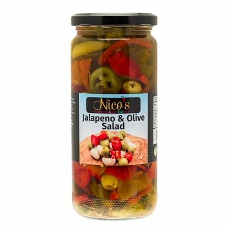 Nico's Jalapeno & Olive Salad 470g