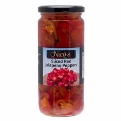 Nico's Red Jalapeño 470g