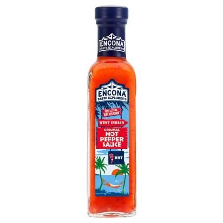 Encona Hot Pepper Sauce 220ml (MAX 5)