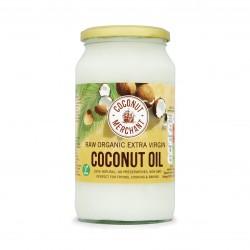 Coconut Merchant Raw Organic Extra Virgin Coconut Oil 800ml