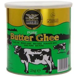 Heera Pure Butter Ghee 2kg Tin